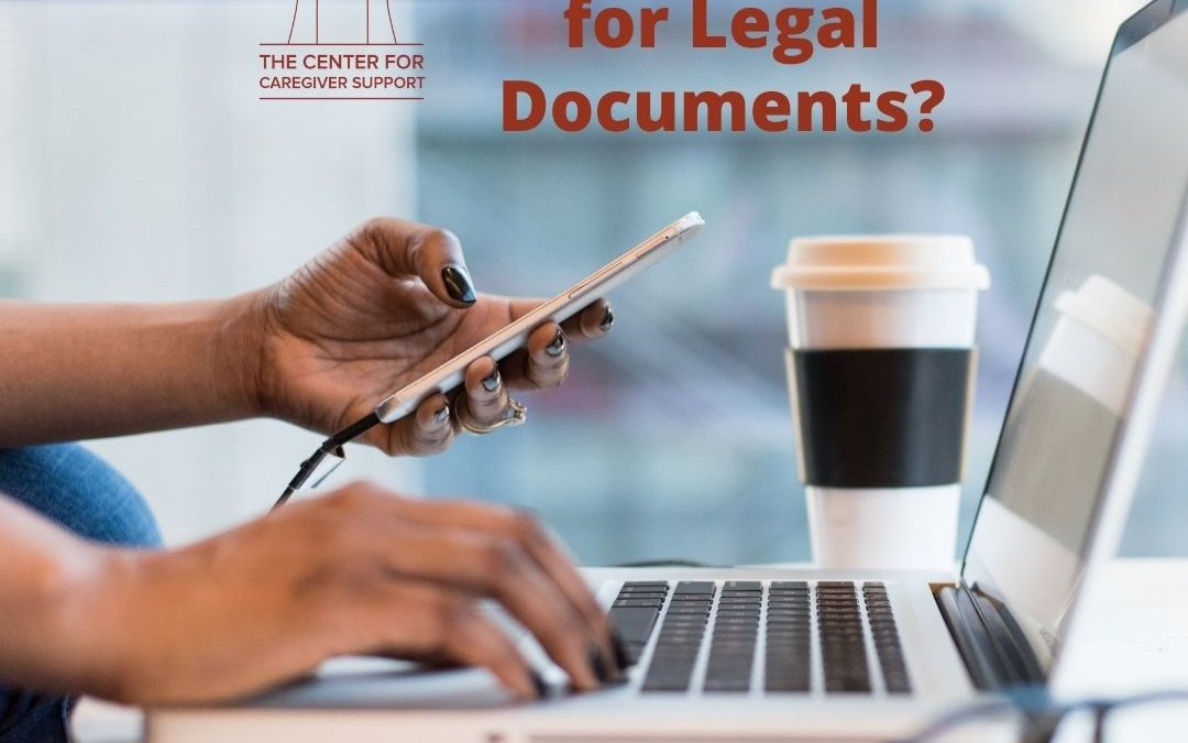Should I Go to the Internet for Legal Documents?